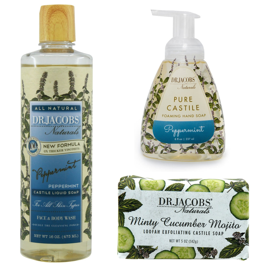 Cool Mint Luxury Set by Dr. Jacobs Naturals