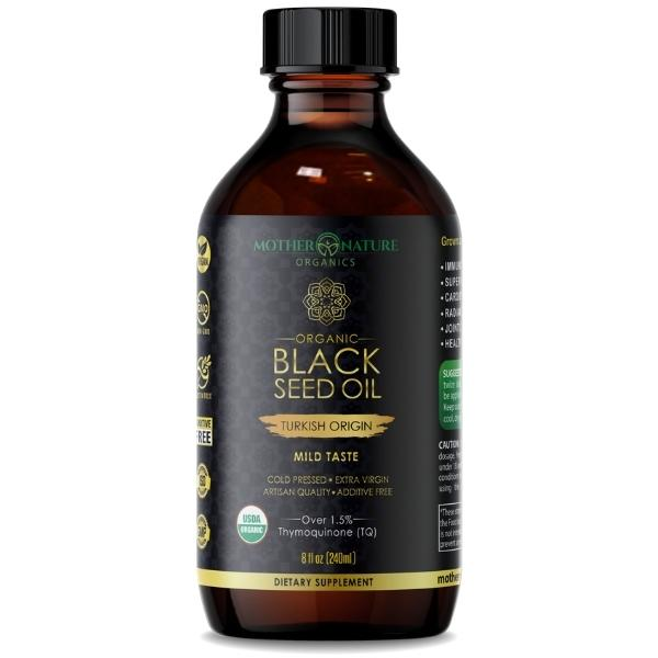Black Seed Oil Turkish by Mother Nature Organics