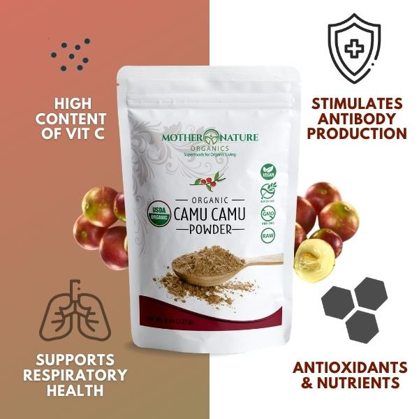 Camu Camu Powder by Mother Nature Organics
