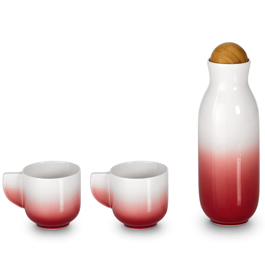 Bloom Carafe Set ( Cups with Handles) by ACERA