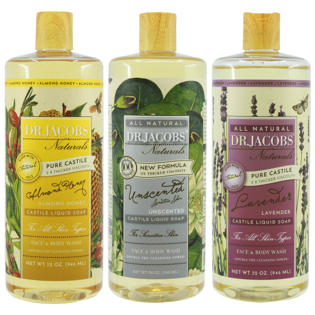 Pamper Your Pet Castile Soap Set by Dr. Jacobs Naturals