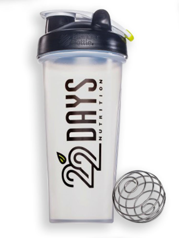22 Days Nutrition Blender Bottle by 22 days nutrition