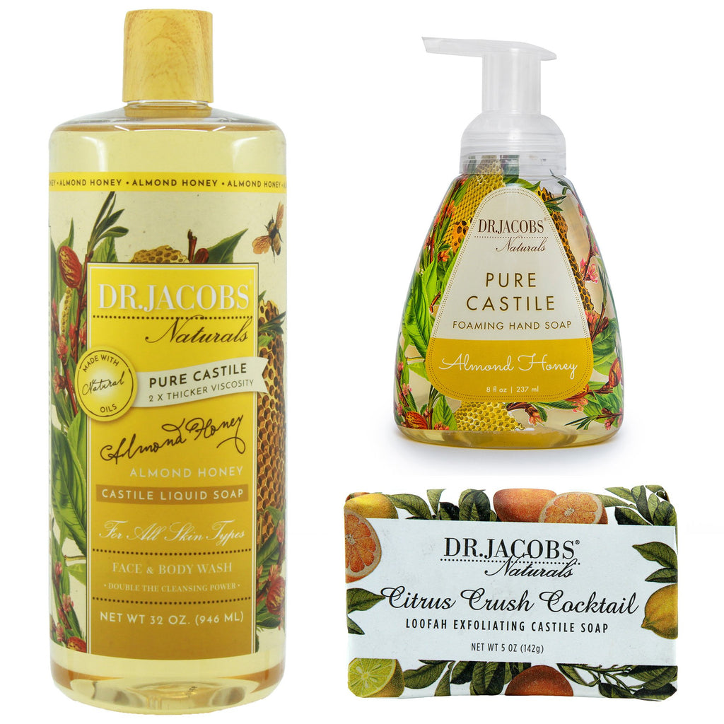 Spring Blossom Luxury Set by Dr. Jacobs Naturals