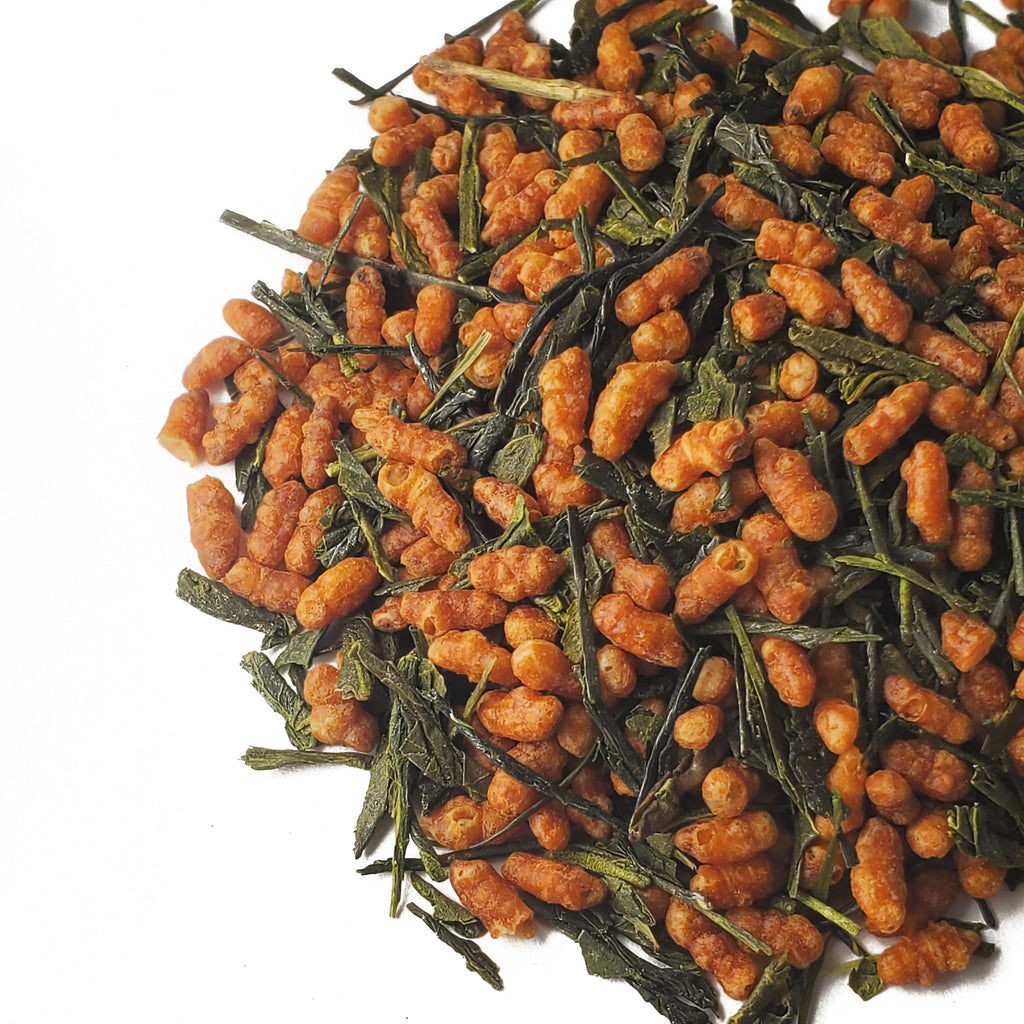 Organic Genmaicha Green Tea by Tea and Whisk