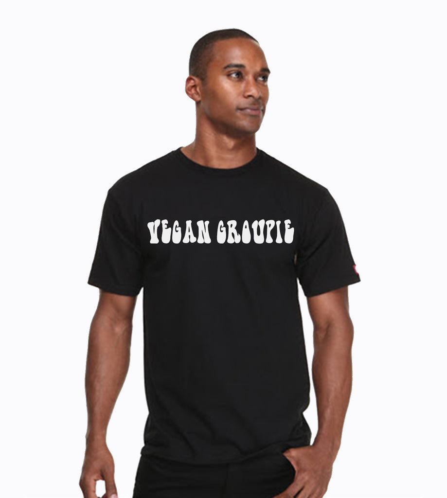 Vegan Groupie T-Shirt - Black