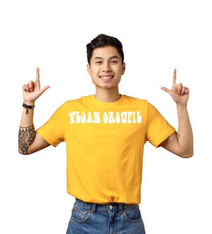 Vegan Groupie T-Shirt - Yellow