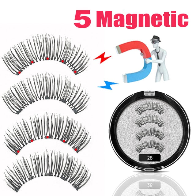 NO-Mink Faux Mink Magnetic Eyelashes | 1 pair