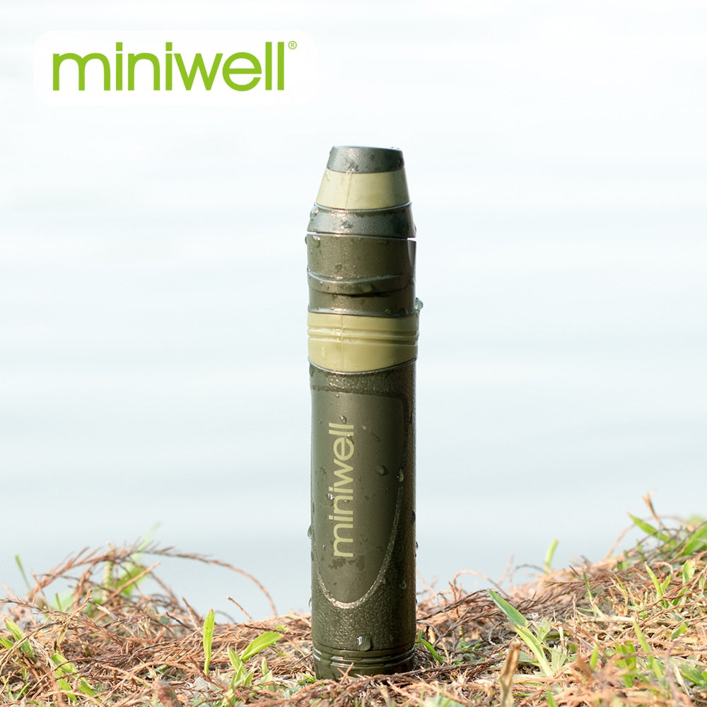 Miniwell L600 Water Filter Straw + L600 Filter Replacements