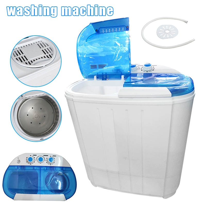 Compact Portable Washing Machine with Spin Dryer