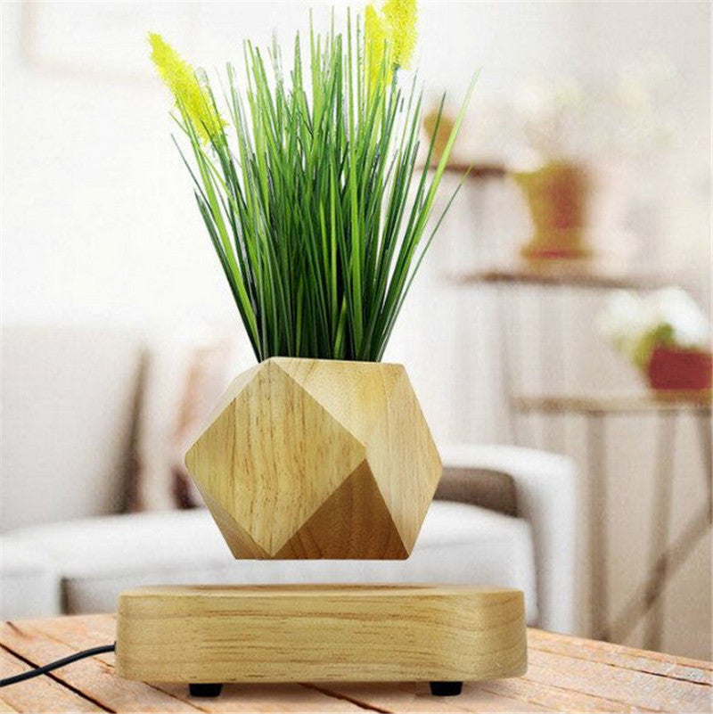 Magnetic Wood Air Floating Flower
