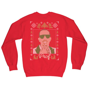 "PROF ""2020 Holiday"" Red Sweatshirt"