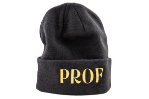 "PROF ""Powderhorn Suites"" Black Beanie"