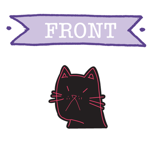 "PROF ""Cat"" Pin"