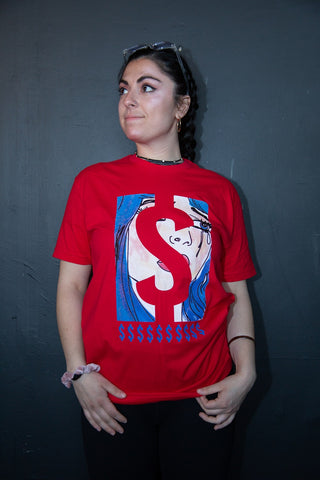 "CASHINOVA ""Dollar Sign"" T-Shirt"
