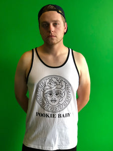 "PROF ""Pookie Baby"" White Tank Top"