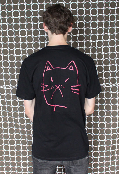 "PROF ""Cat"" T-Shirt (Black)"