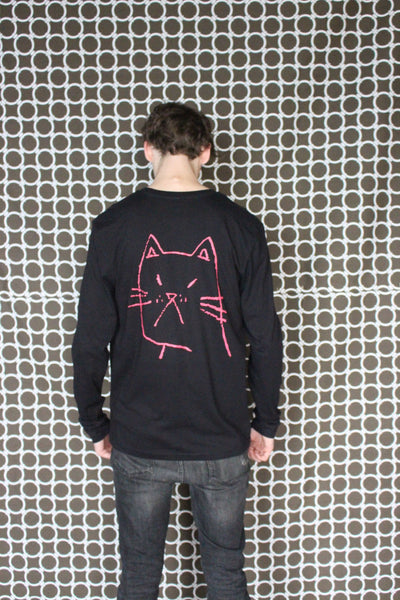 "PROF ""Cat"" Longsleeve (Black)"