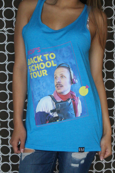"PROF ""Back to School Tour"" Tank Top"