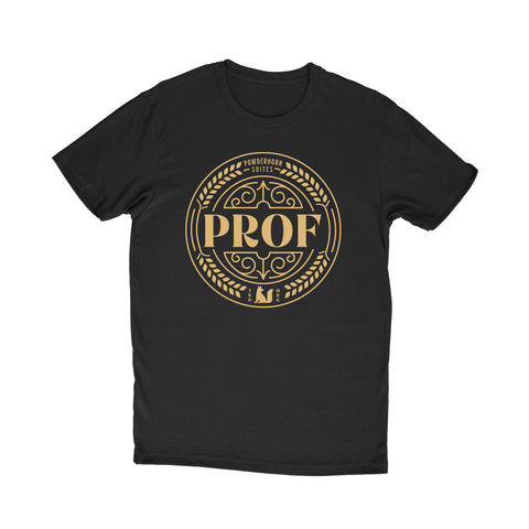 "PROF ""Powderhorn Suites"" T-Shirt (Black)"