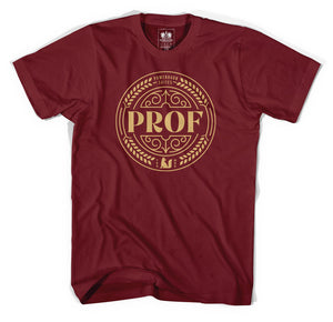 "PROF ""Powderhorn Suites"" T-Shirt (Canvas Red)"