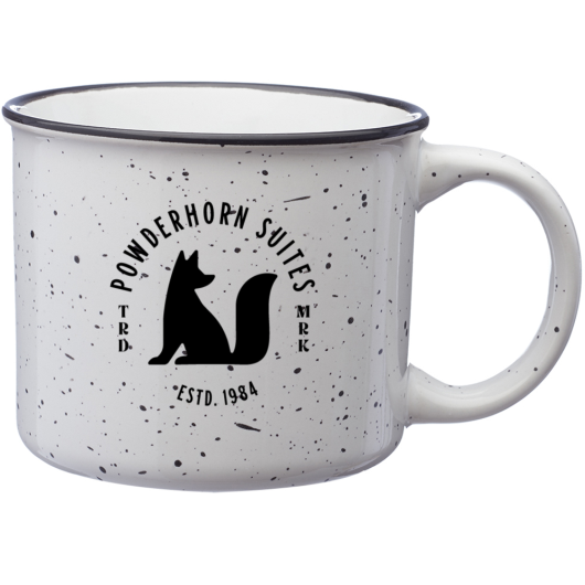 "PROF ""Powderhorn Suites"" White Mug"