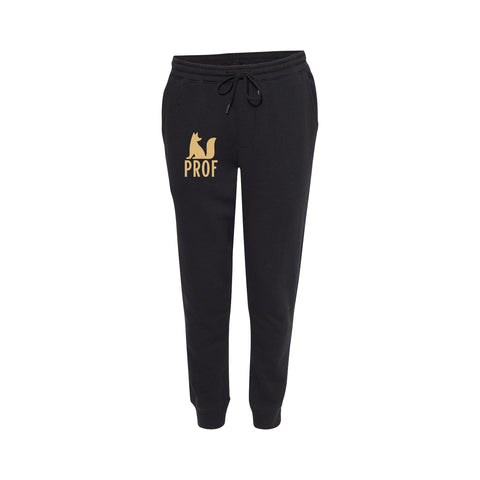 "PROF ""Established 1984"" Black Joggers"