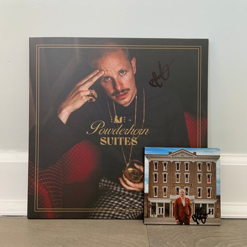 "**LIMITED SUPPLIES** PROF ""Powderhorn Suites"" SIGNED Double Vinyl + Original CD"