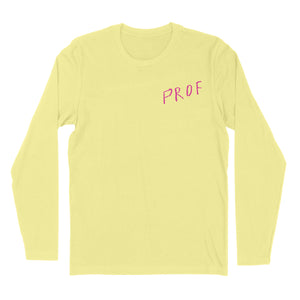 "PROF ""Cat"" Longsleeve (Yellow)"