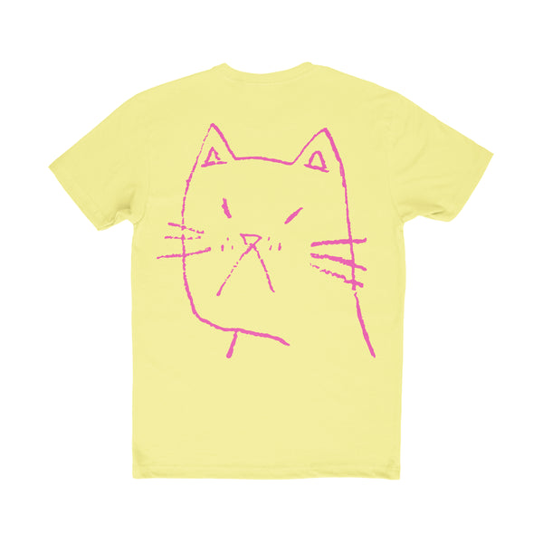 "PROF ""Cat"" T-Shirt (Yellow)"