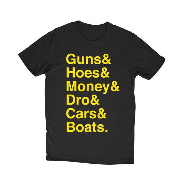 "PROF ""Squad Goals"" T-Shirt (Black)"