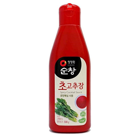 ChungJungOne Sunchang Cho Gochujang Korean Sweet Chilli Cocktail Sauce 10.6oz (300g)