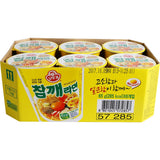 Ottogi Sesame Ramyeon Cup Noodle (65g) Pack of 6