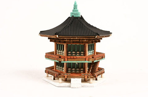 Wooden Model Kit 3D Puzzle - HyangWonJeong Pavilion Bridge