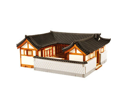 Wooden Model Kit 3D Puzzle - Buchon Hanok Korean House A