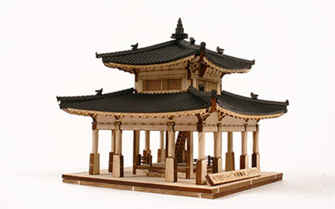 Wooden Model Kit 3D Puzzle - Hwaseong JangDae