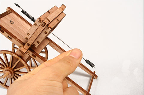 Wooden Model Kit 3D Puzzle - Singigeongi Hwacha Mobile Fire Arrow Cart