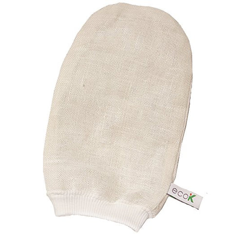 All Natural Hemp Exfoliating Mitt Premium  Scrub Massage Glove