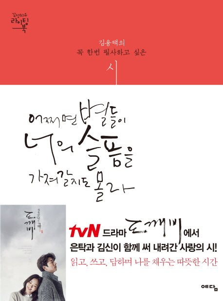 어쩌면 별들이 너의 슬픔을 가져갈지도 몰라 Maybe Stars Take Your Grief Plus+ (K-drama Dokkaebi Poem Writing Book)