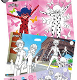 Miraculous Ladybug Sticker Coloring Book