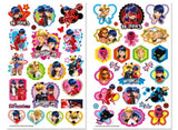 Miraculous Ladybug Tattoo Luminescent Stickers Book
