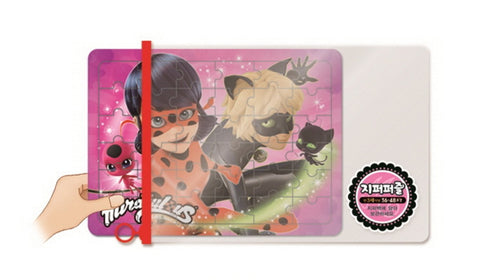 Miraculous Ladybug 2 Set 36/48 Piece Jigsaw Puzzle w/Zipper Bag