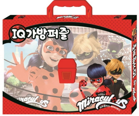 Miraculous Ladybug 4 Set 18/25/35/48 Piece Jigsaw Puzzle Box