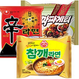 Nongshim and Ottogi Ramyun Combo Special ( 4.23 Oz)  x 6 Pack