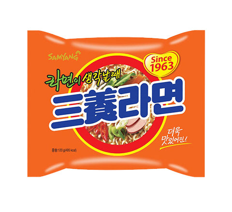 Nongshim and Samyang Ramyun Combo ( 4.23 Oz)  x 6 Pack
