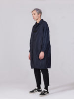 LIGHTWEIGHT NYLON TRENCH - PETROL