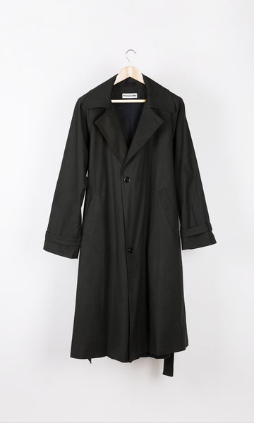 Mid Season Charcoal Trench Coat