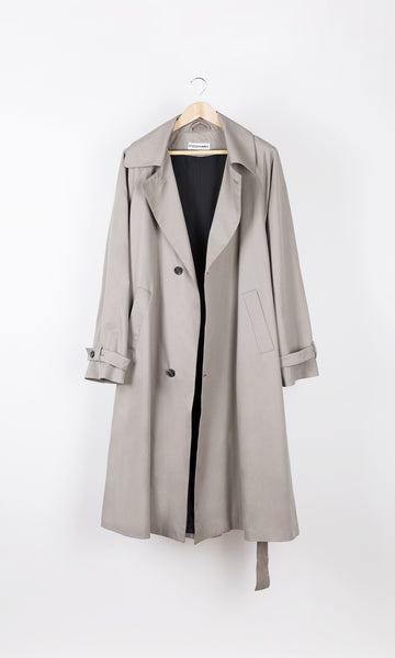 Mid Season Grey Trench Coat