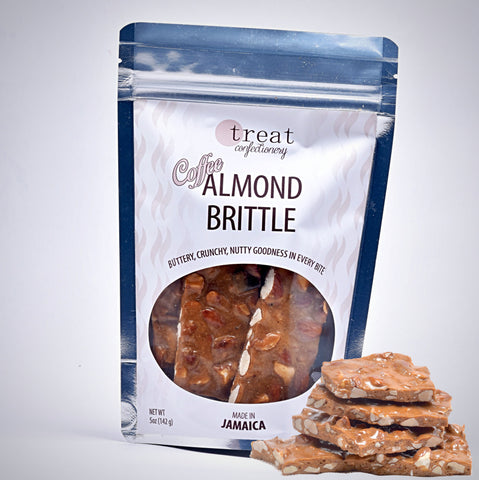 Treat Confectionery Coffee Almond Brittle