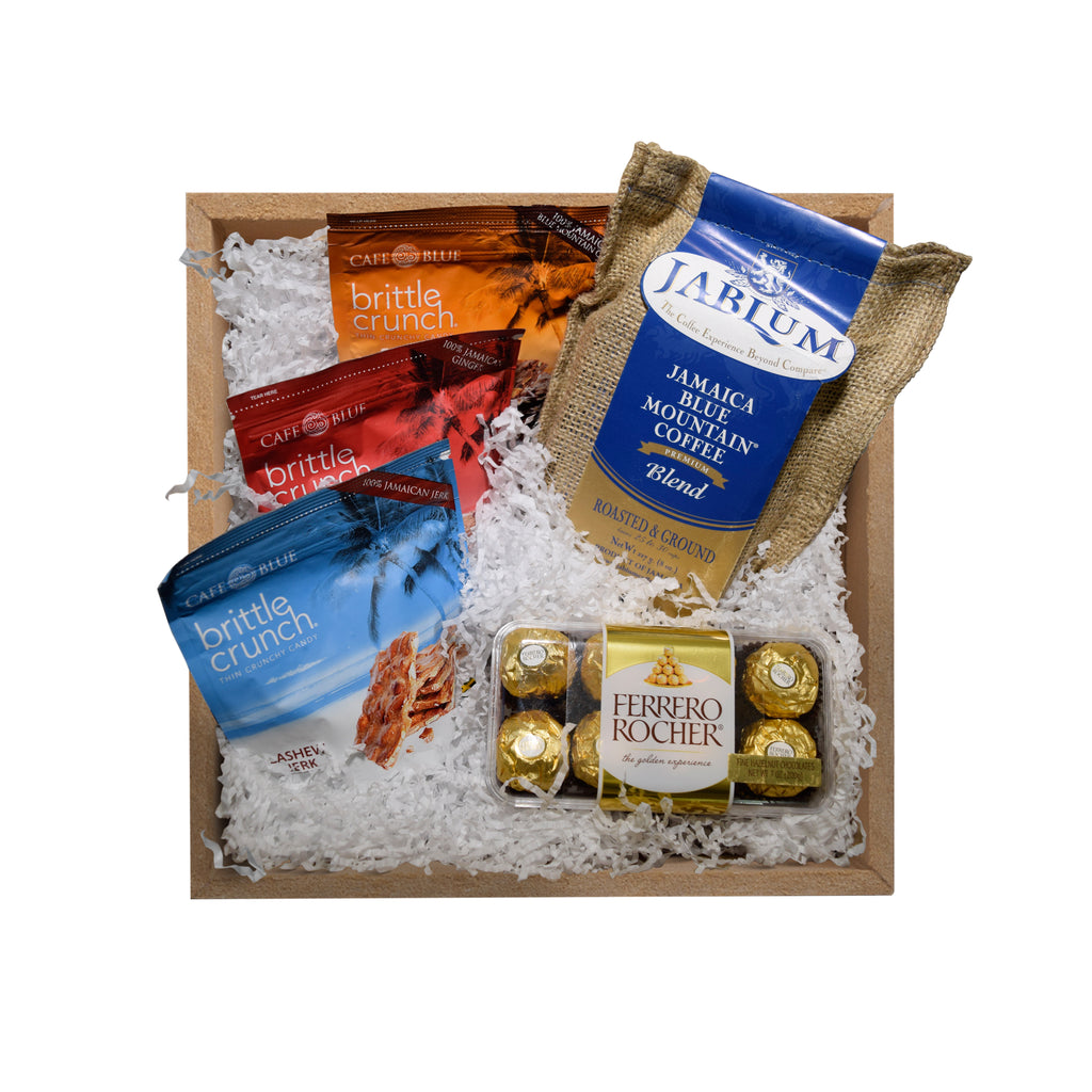 Signature Gift Pack with Coffee, Chocolate & Brittle Crunches