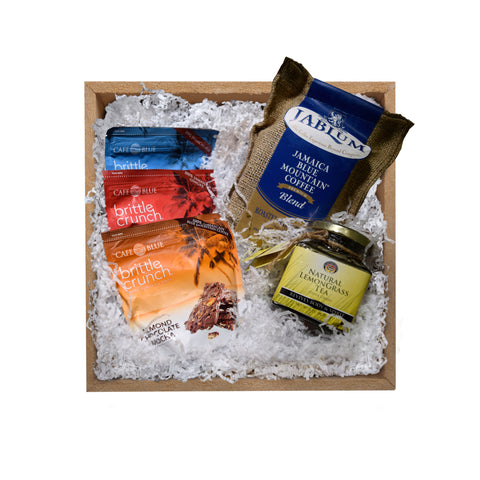 Signature Gift Pack with Coffee, Tea & Brittle Crunches